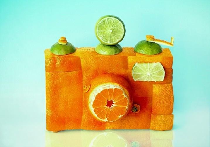 趣味食物造型艺术