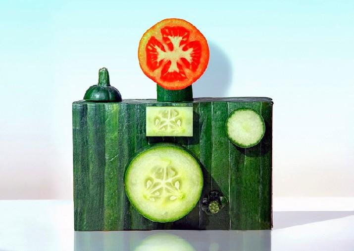 黄瓜相机造型艺术