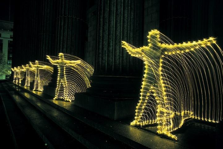 光绘摄影:光影中的纽约