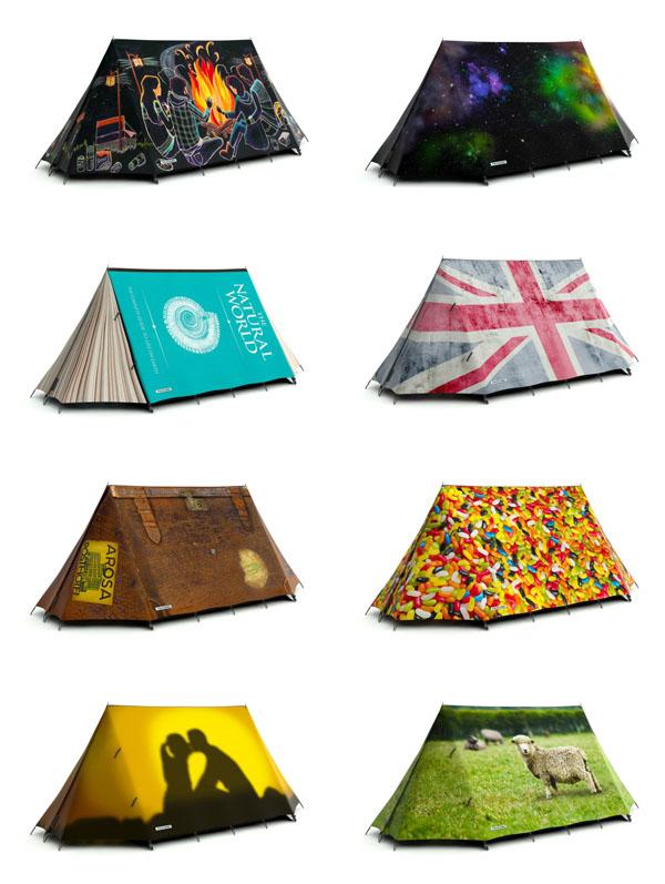时尚帐篷设计2