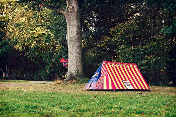便利店造型的户外帐篷