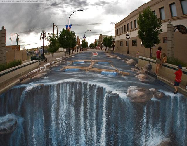 3D立体街头涂鸦