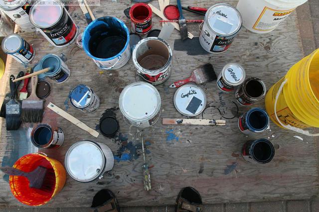 涂鸦的颜料