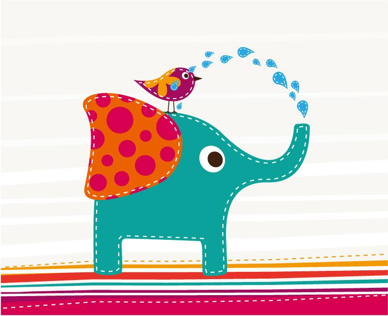 下载地址1下载地址2标签:动物彩绘小鸟大象卡通插画布艺喷水图片