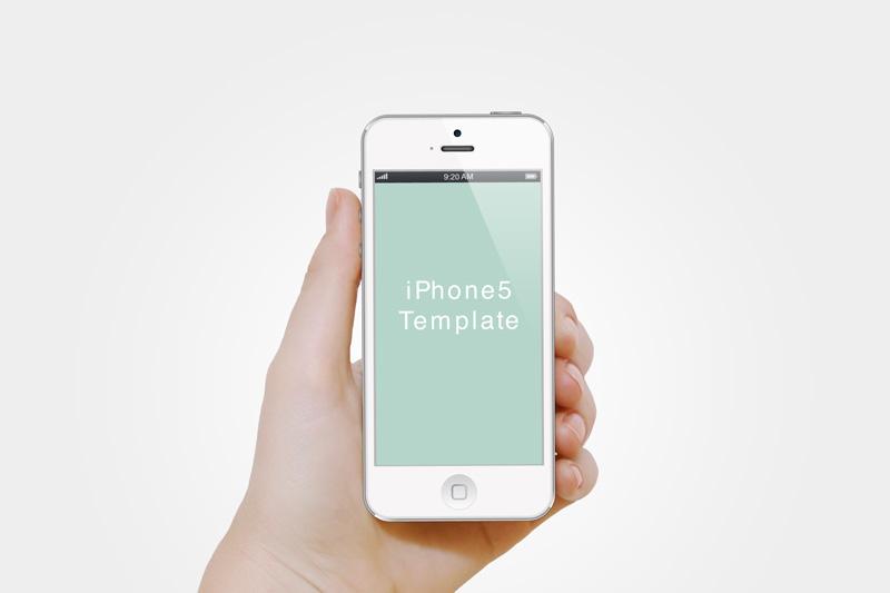 手拿iphonepsd素材