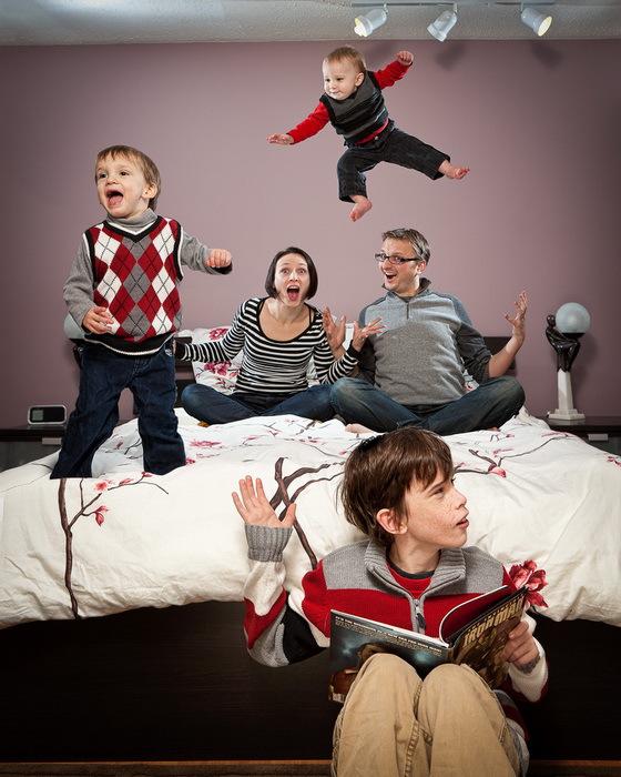欢乐家庭照