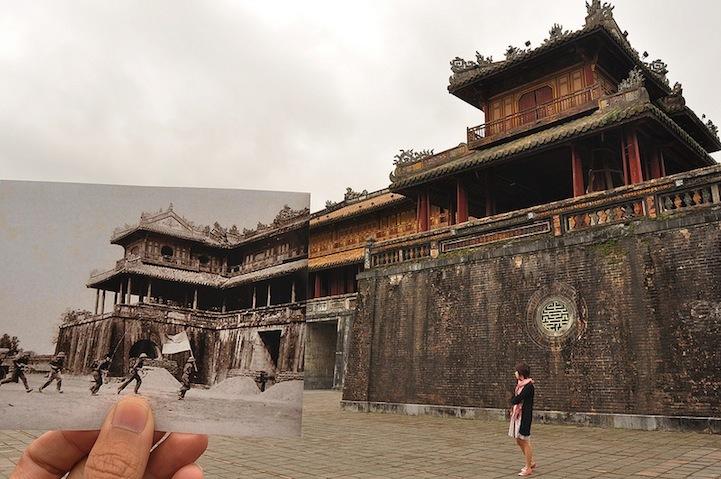 越南的时光之旅建筑