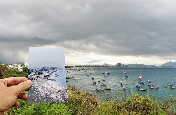 越南的时光之旅海边