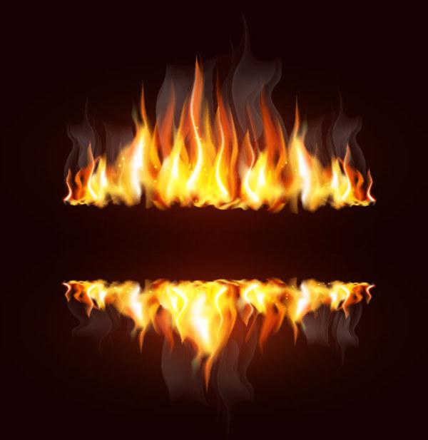 创意火焰设计矢量素材 其他矢量 懒人图库