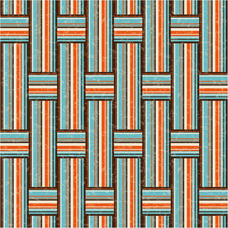 缤纷编织条纹背景矢量素材