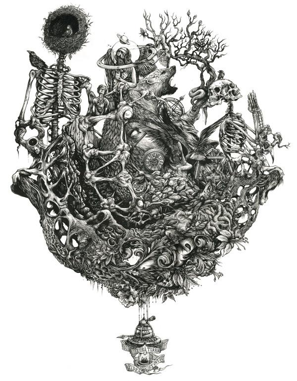 法国插画师DZO Olivier