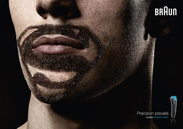 博朗剃须刀创意广告