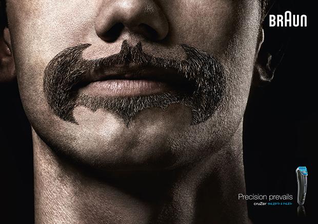 博朗BRAUN剃须刀创意广告