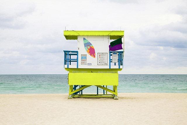 海滩救生塔设计