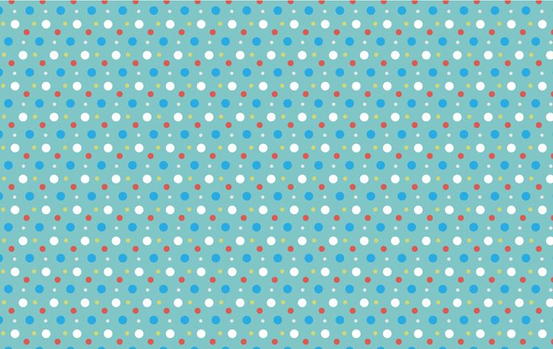 【彩色圆点背景设计