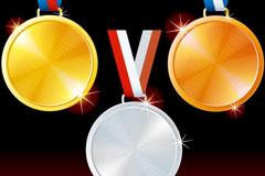 精美奥运奖牌设计模板矢量素材