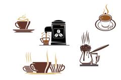 美味咖啡图标设计矢量素材