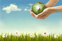 创意环保背景矢量素材