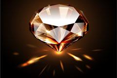 精美璀璨钻石矢量素材