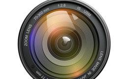 精美相机镜头矢量素材
