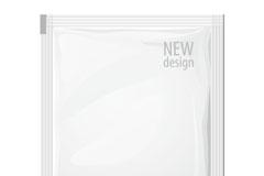 护肤品包装袋矢量素材