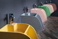 Tandem洗手冲水二合一厕所小便器