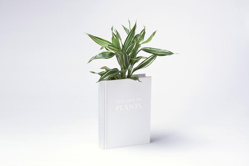 书本样式的花瓶设计