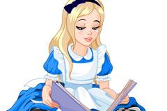 卡通爱丽丝矢量素材