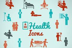 医疗救护图标矢量素材