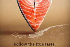Followfish披萨广告:Follow the ture taste