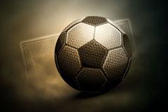 创意质感足球背景矢量素材