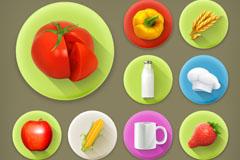 13款精美食物图标矢量素材