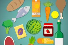 16款精美食物图标矢量素材