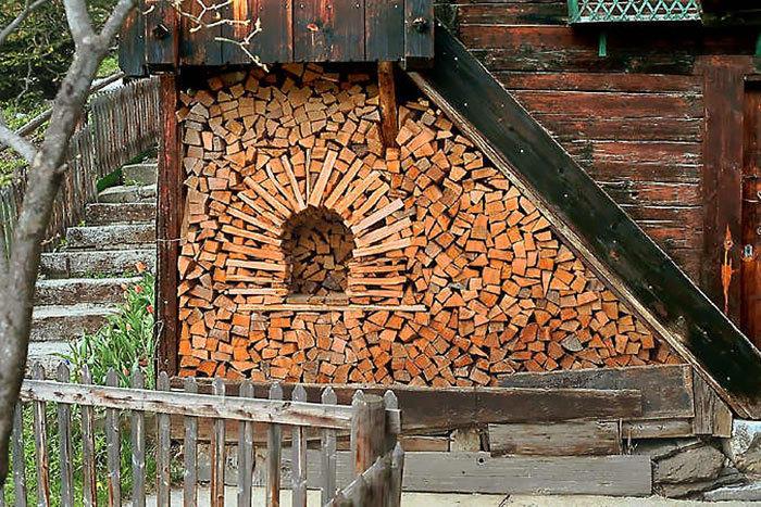 堆木柴的最高境界