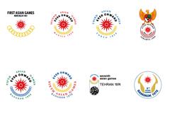 17届亚运会标志设计矢量素材