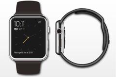 苹果iwatch设计矢量素材