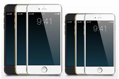 6款iphone6和iphone6plus矢量素材