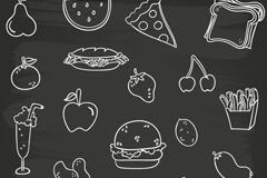 20款食物设计矢量素材