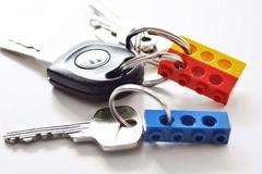 乐高创意钥匙链和钥匙挂