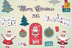 25款圣诞装饰元素设计矢量素材