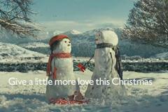 John Lewis 2012年圣诞广告《雪人的旅行》超温馨感人