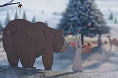 John Lewis 2013圣诞广告《熊和野兔?#25918;?#24515;故事
