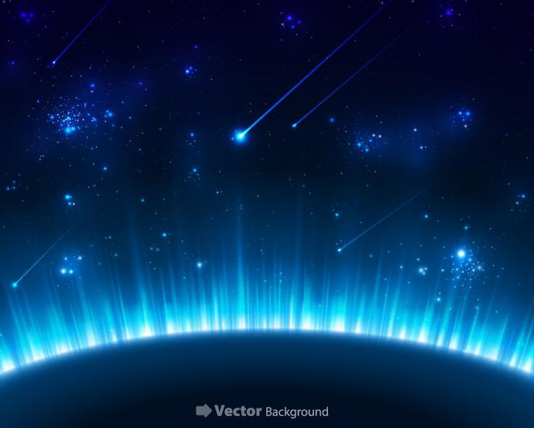 【宇宙中的蓝色星球