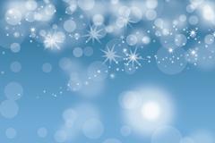 梦幻蓝色光晕背景设计矢量素材