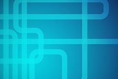 创意蓝色曲线背景矢量素材