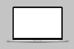 苹果超薄mac pro笔记本电脑矢量