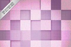 紫色系方格背景设计矢量素材