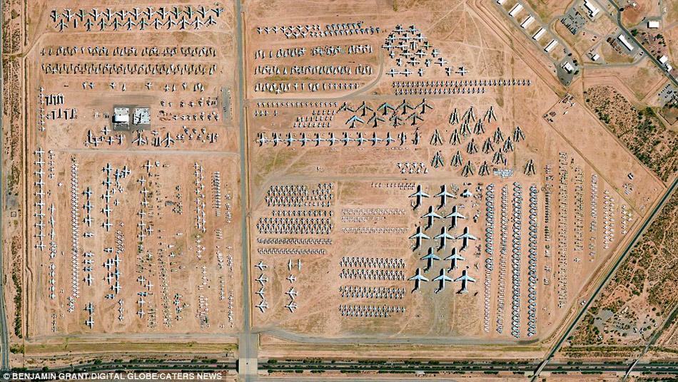 美国亚利桑那州的空军基地