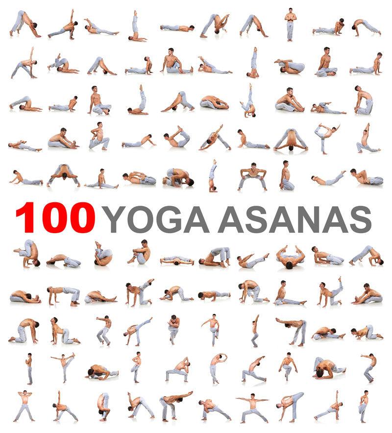 Male Static Stretching Chart: 100个男子瑜伽动作高清图片素材_人物图片_懒人图库