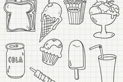 画图片大全/点心简笔画图片大全/卡通甜品图片简笔画/甜品简笔画大全